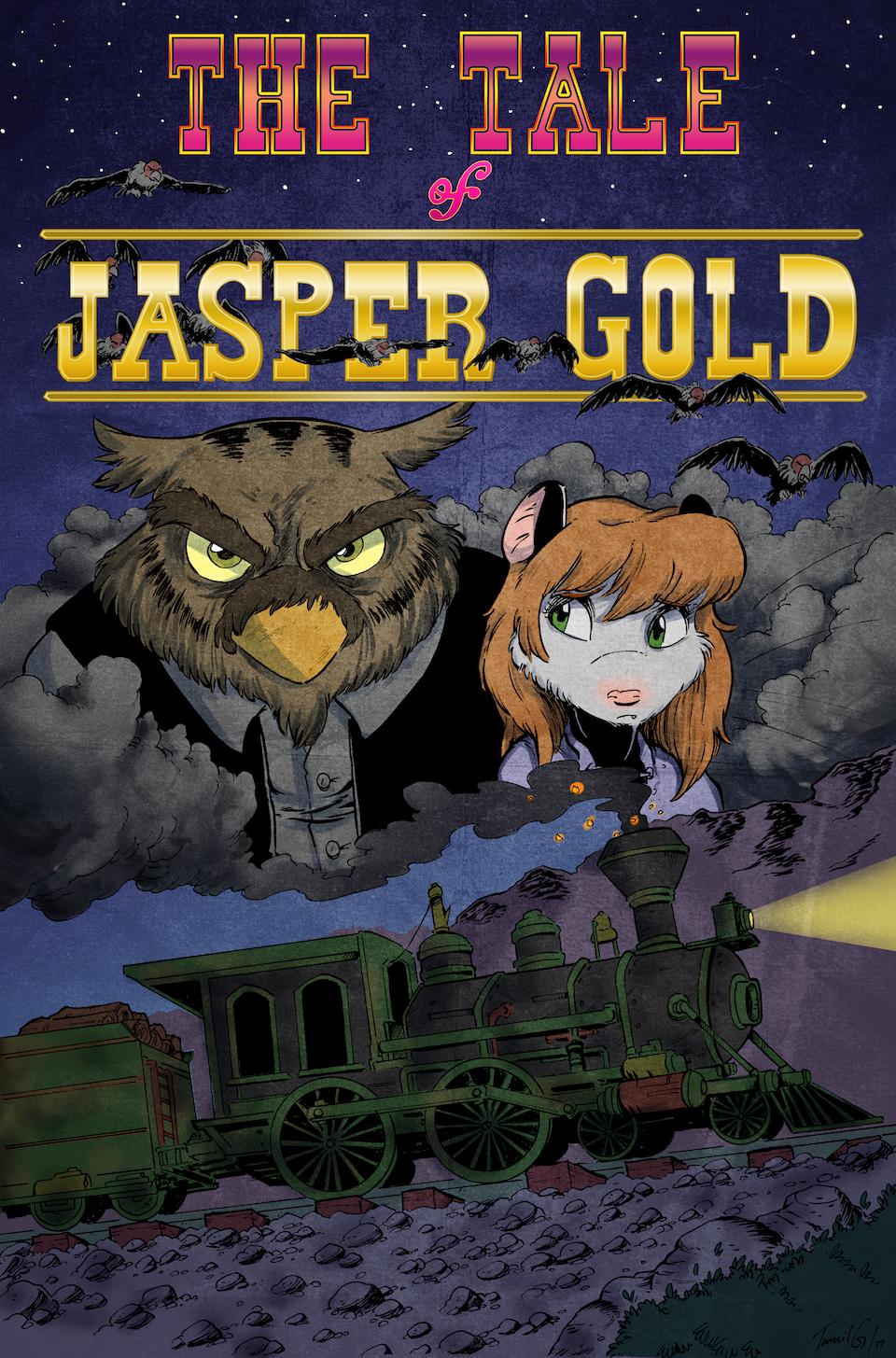 Jasper Gold 04 – Cover