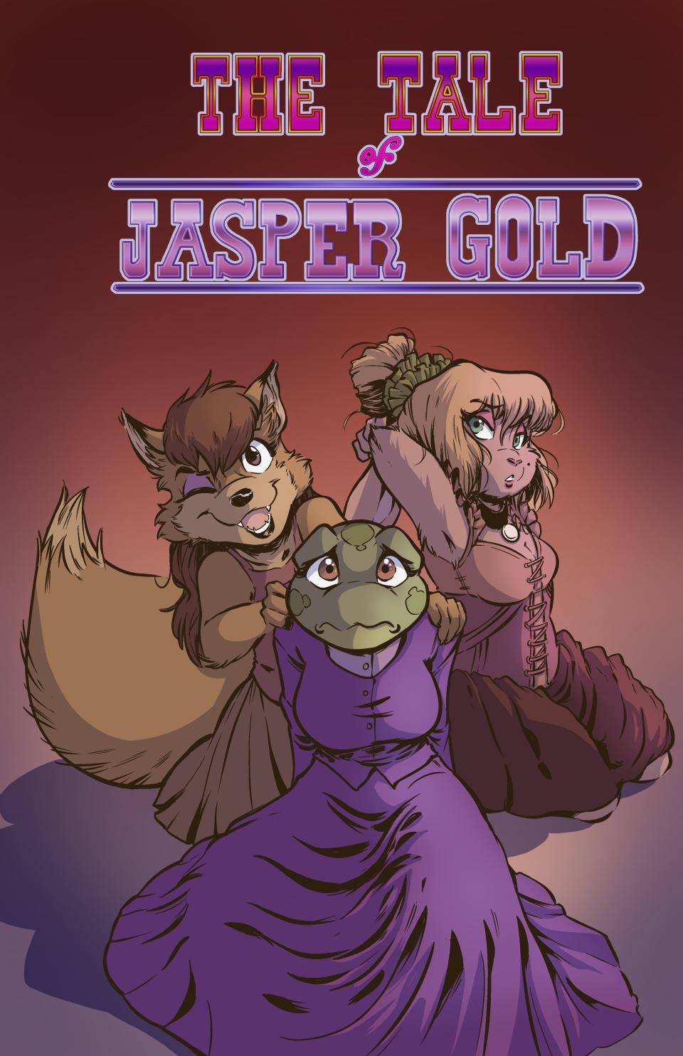 Jasper Gold 06 – Cover