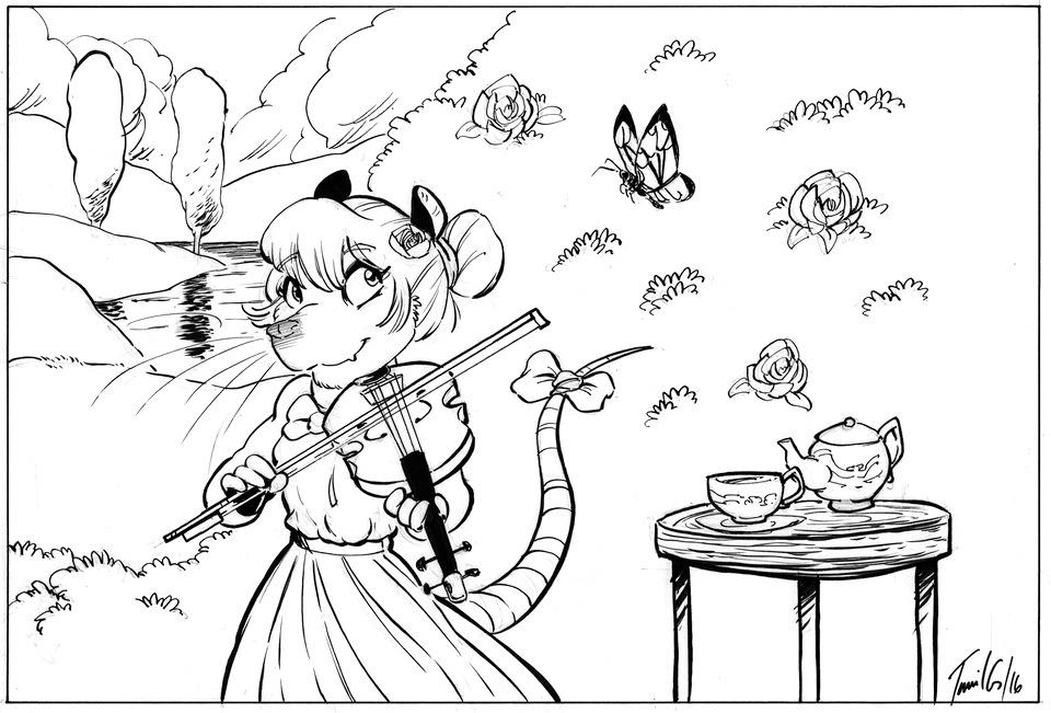 Jasper Gold Illustration – Practice, Practice